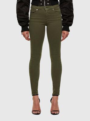 D-Roisin 0096H, Military Green - Jeans