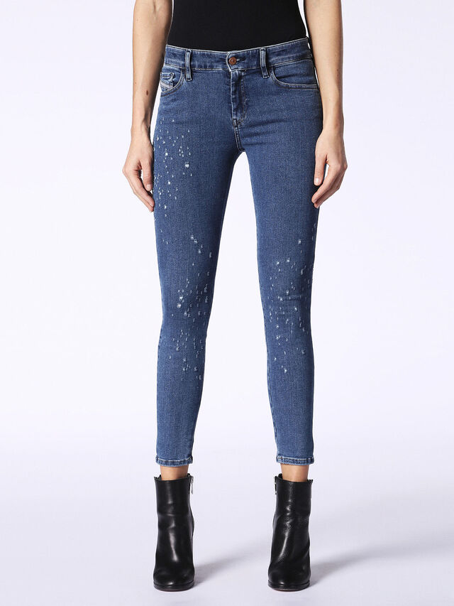 SLANDY-ANKLE 0689J, Blue jeans