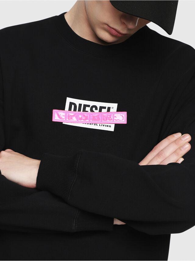 Diesel - S-GIR-DIE, Black - Sweaters - Image 3