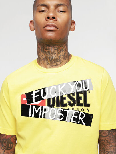 Diesel - HC-T-JUST-DIVISION-B,  - T-Shirts - Image 7