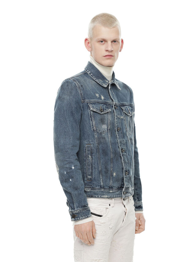 Diesel - JARTE, Blue Jeans - Jackets - Image 3