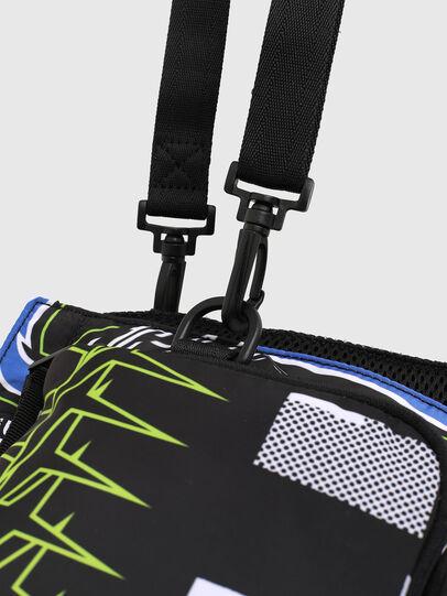 Diesel - WARMY, Black - Crossbody Bags - Image 7