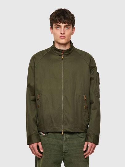 Diesel - J-HARRY, Dark Green - Jackets - Image 1