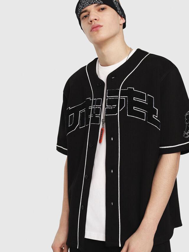 Diesel - S-KAEDE, Black - Sweaters - Image 1