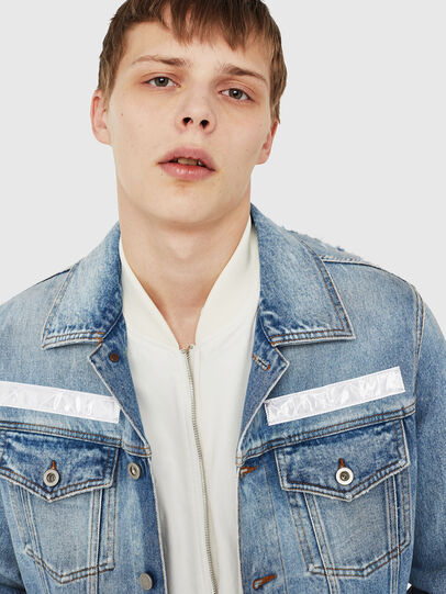 Diesel - NHILL-TM,  - Denim Jackets - Image 3