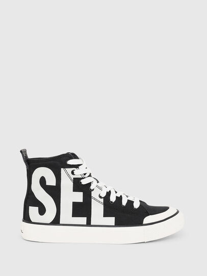 Diesel - S-ASTICO MC W, Black/White - Sneakers - Image 1