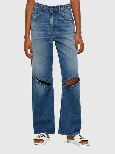 Diesel - D-Reggy 009RK, Medium blue - Jeans - Image 1