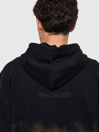 Diesel - S-UMMER-ZIP-B1, Grey - Sweaters - Image 3