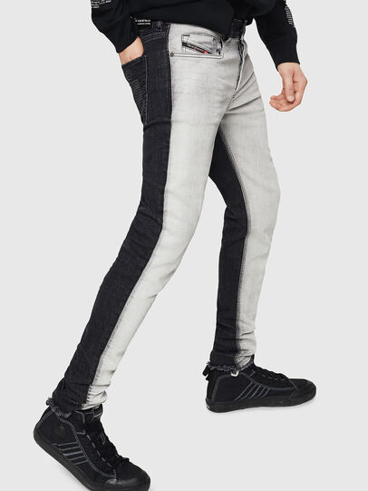 Diesel - Sleenker 082AX, Black/Dark grey - Jeans - Image 4