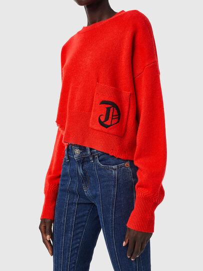 Diesel - M-IDAHI, Orange - Knitwear - Image 3