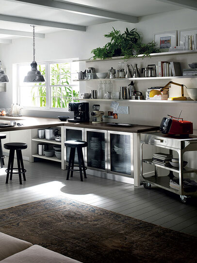 Diesel - CORNER COMPOSITION, Multicolor  - Kitchen - Image 6