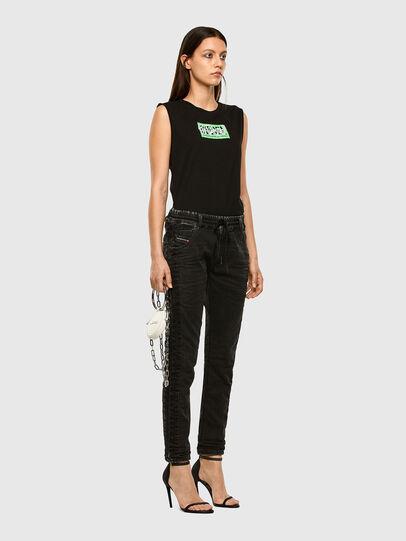 Diesel - Krailey JoggJeans 009FY, Black/Dark grey - Jeans - Image 6