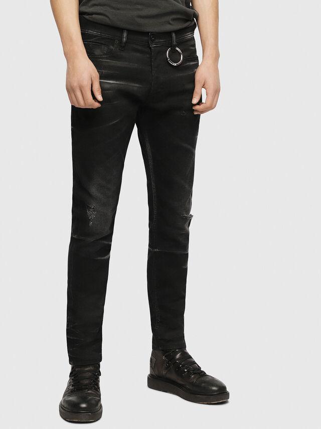 Diesel - Tepphar 0090P, Black/Dark grey - Jeans - Image 1