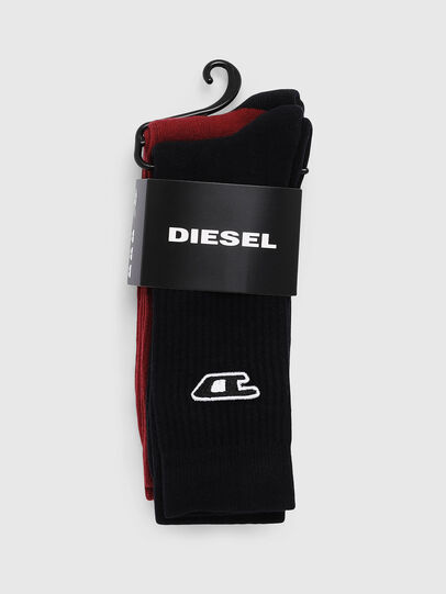 Diesel - SKM-RAY-TWOPACK, Black/Red - Socks - Image 2