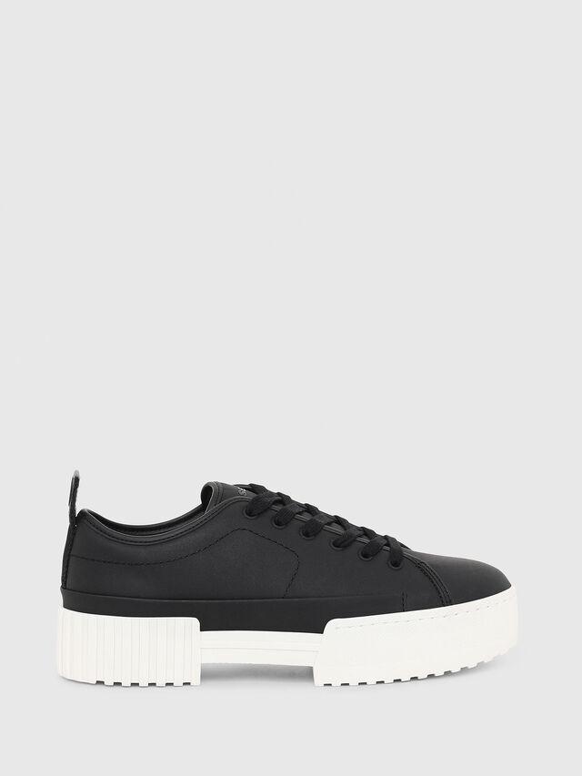 Diesel - S-MERLEY LC, Black - Sneakers - Image 1