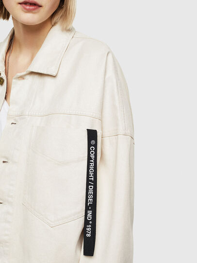 Diesel - DE-JALA, White - Denim Jackets - Image 6