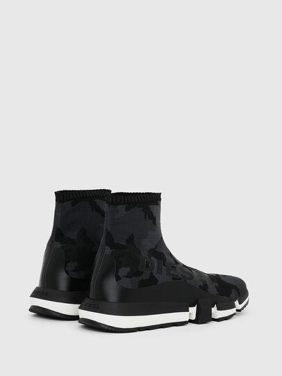 Diesel - H-PADOLA HIGH SOCK, Black - Sneakers - Image 3