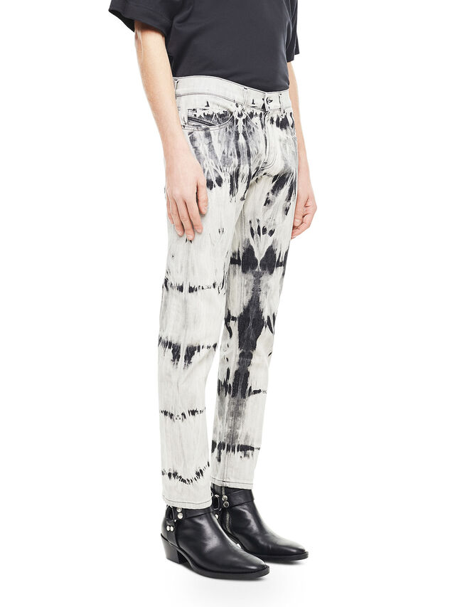 Diesel - TYPE-2813FS, White/Black - Jeans - Image 3