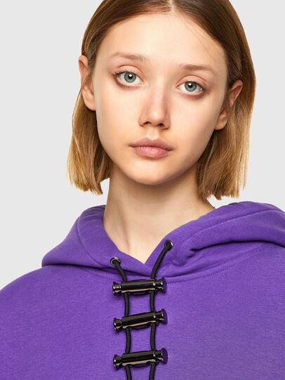 Diesel - F-RENTOL, Violet - Sweaters - Image 3