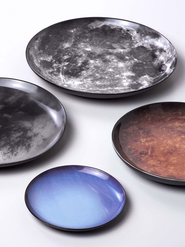 Living 10826 COSMIC DINER, Grey - Plates - Image 2