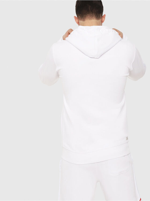 Diesel - UMLT-BRANDON-Z, White - Sweaters - Image 2