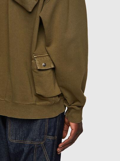 Diesel - S-ERPOCKOO-B1, Olive Green - Sweaters - Image 3