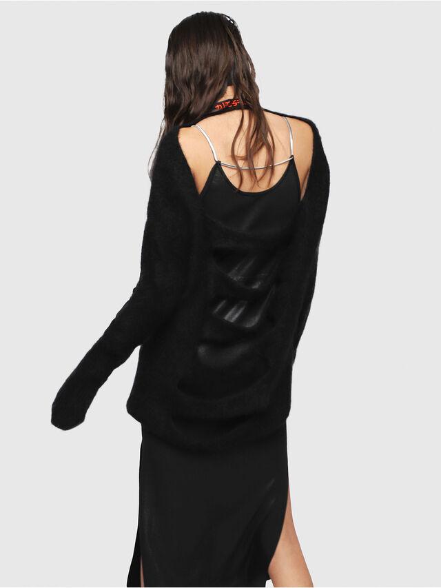 Diesel - M-GIORGIA, Black - Knitwear - Image 2