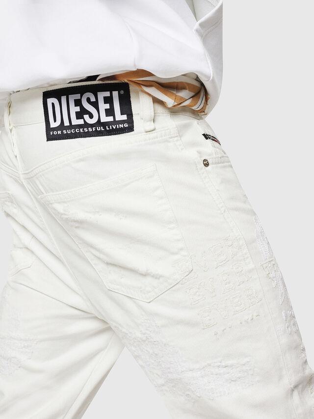 Diesel - Mharky 069IJ, White - Jeans - Image 6