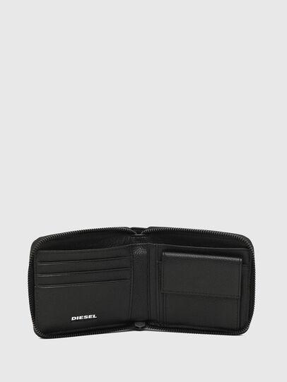 Diesel - ZIPPY HIRESH S, Black/White - Zip-Round Wallets - Image 3
