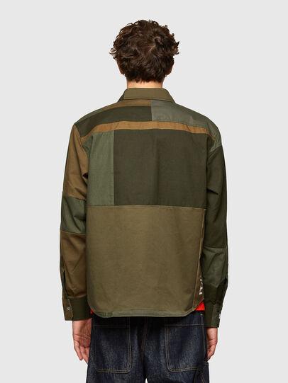 Diesel - S-HORUS, Olive Green - Shirts - Image 2