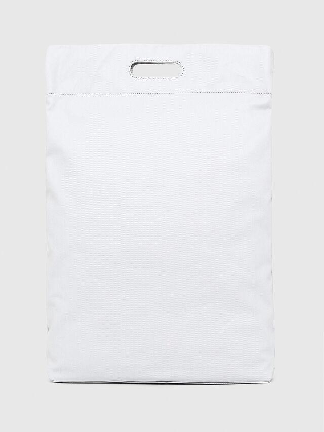 Diesel - F-LITT SHOPPER N/S, White - Shopping and Shoulder Bags - Image 2