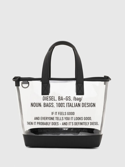 Diesel - PUMPKIE, White - Shopping and Shoulder Bags - Image 1