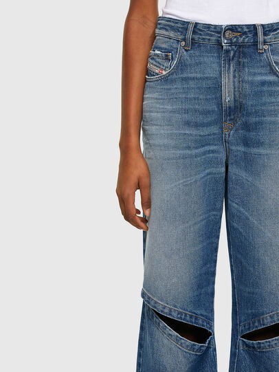 Diesel - D-Reggy 009RK, Medium blue - Jeans - Image 3