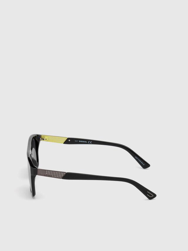 Diesel DL0268, Black - Eyewear - Image 3