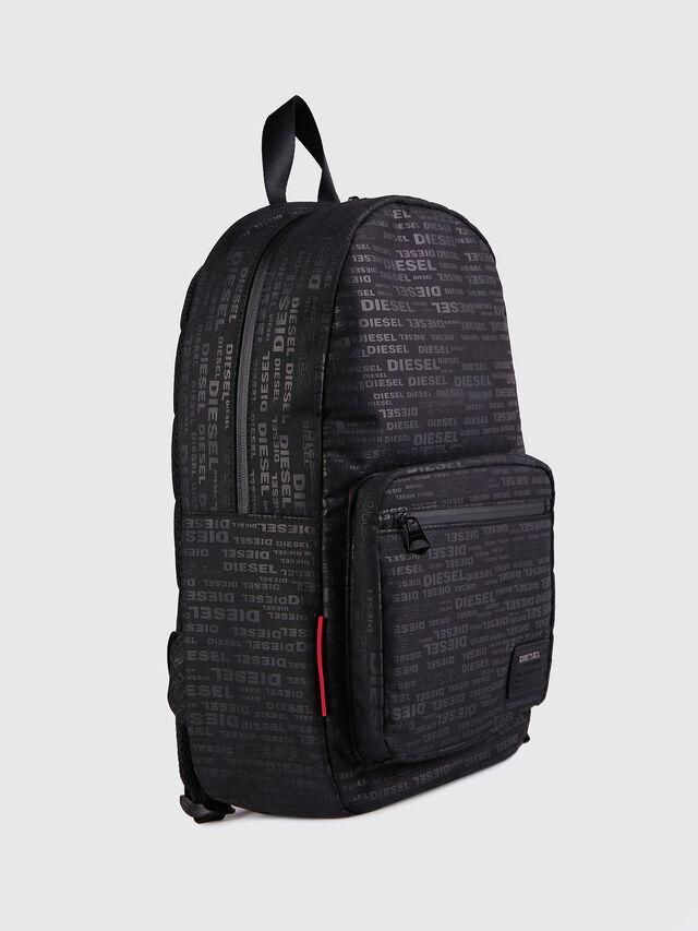 Diesel F-DISCOVER BACK, Black/Red - Backpacks - Image 2