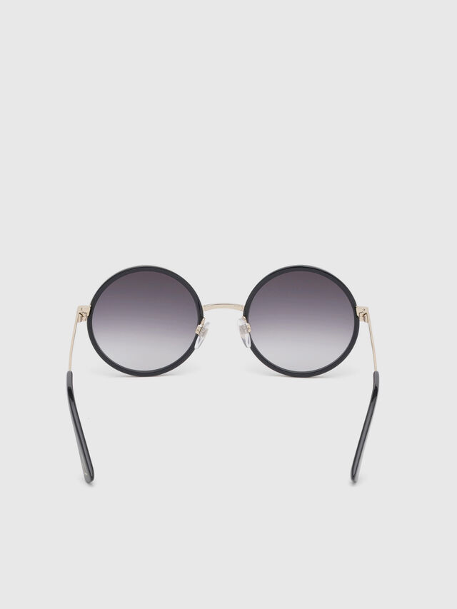 Diesel - DL0276, Black/Gold - Sunglasses - Image 4
