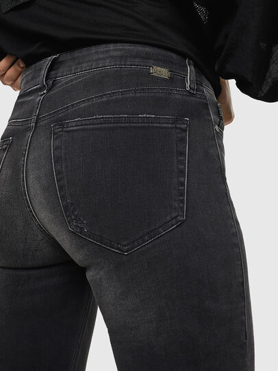 Diesel - Slandy 069GI, Black/Dark grey - Jeans - Image 5