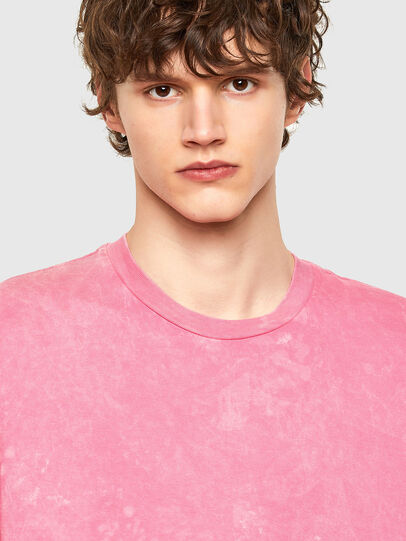 Diesel - T-JUST-E2, Pink - T-Shirts - Image 4