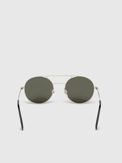 Diesel - DL0301, Black/Gold - Sunglasses - Image 4