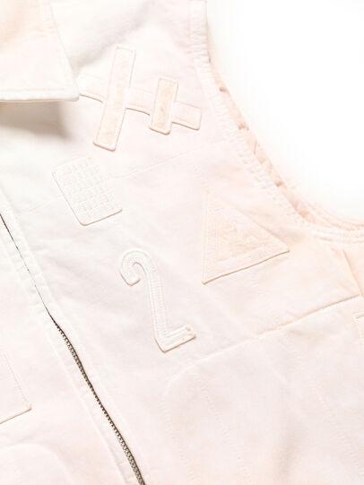Diesel - GR02-J303, White - Denim Jackets - Image 4