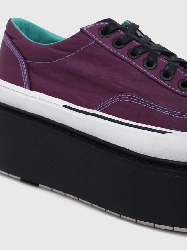 Diesel - H-SCIROCCO LOW, Dark Violet - Sneakers - Image 6