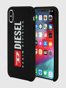 DIESEL PRINTED CO-MOLD CASE FOR IPHONE XS & IPHONE X, Black/White - Cases