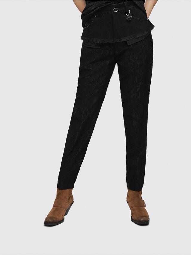 Diesel - P-MARU, Black - Pants - Image 1
