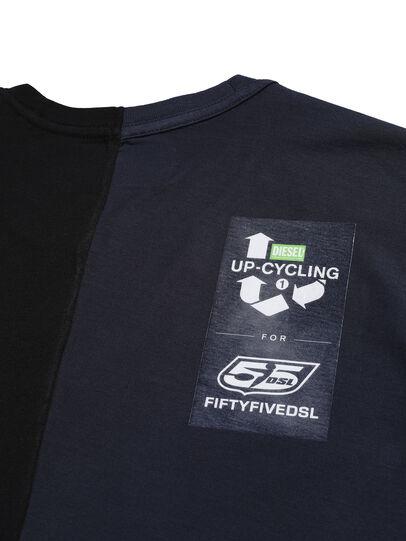 Diesel - D-MESO&MESO, Black - T-Shirts - Image 4