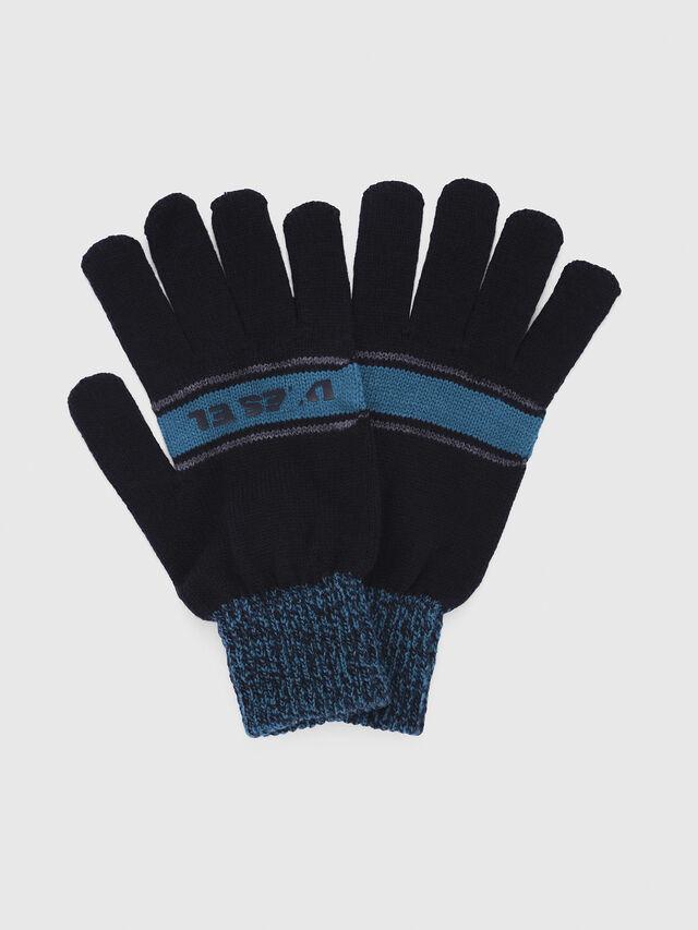 Diesel - CADO-KIT, Black/Blue - Scarf - Image 3