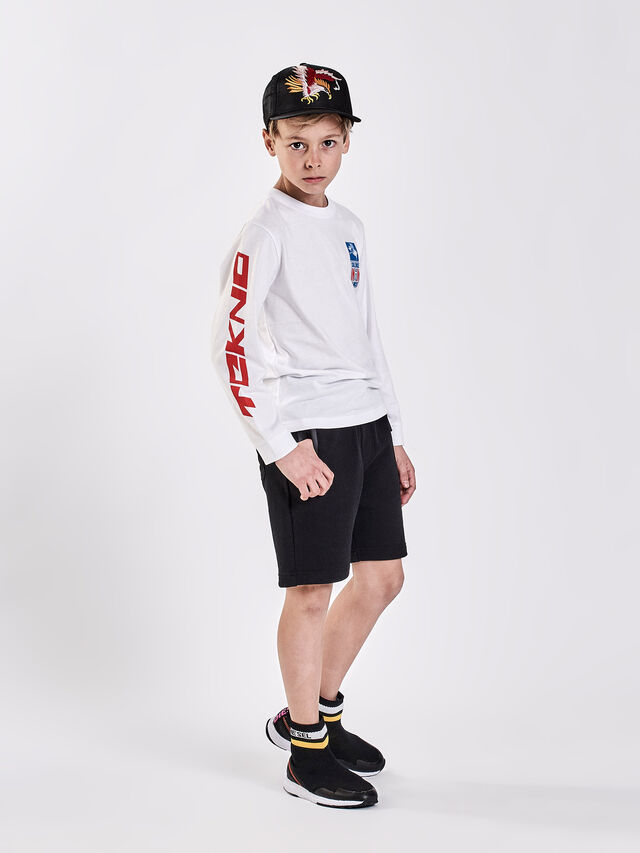 Diesel - TJUSTLSWBT, White - T-shirts and Tops - Image 4