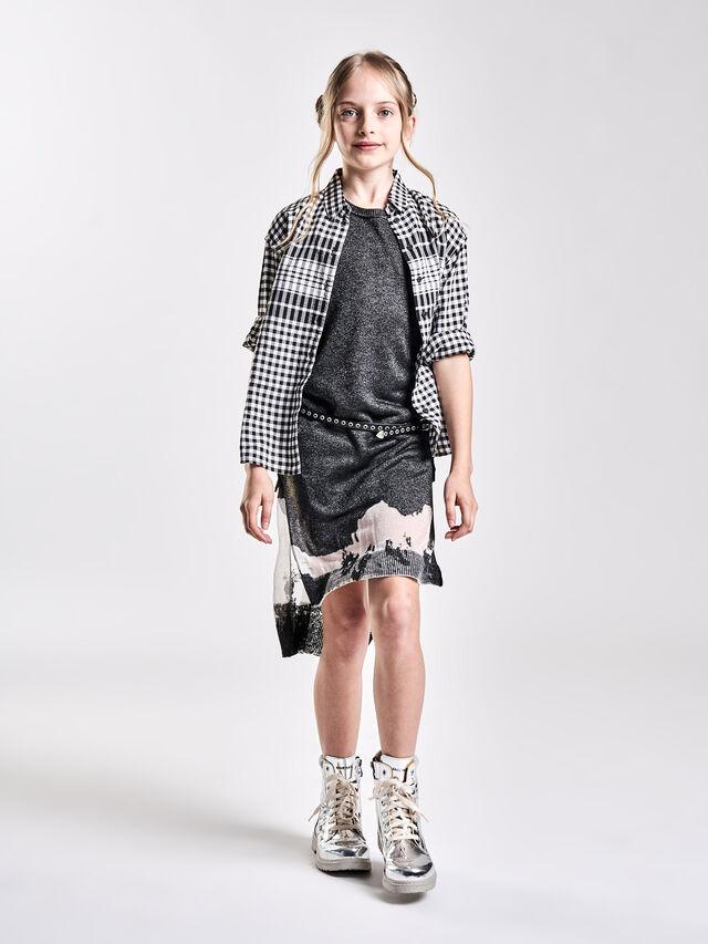 Diesel - DMLUKY, Black/White - Dresses - Image 4