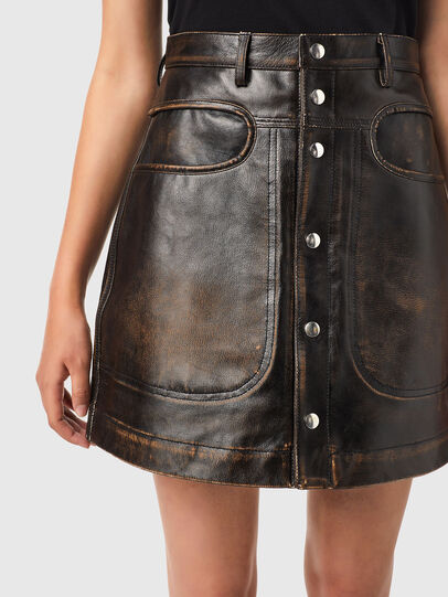 Diesel - L-LIA, Black - Skirts - Image 3