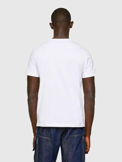 Diesel - T-DIEGOS-K16, White - T-Shirts - Image 3