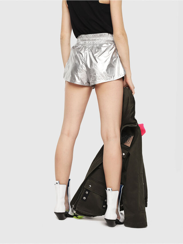 Diesel - S-DEMIBY, Silver - Shorts - Image 2